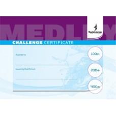 Medley Certificate