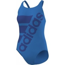 adidas Infitex+ Solid Swimsuit - Shock Blue/Blue