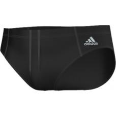adidas Solid Swim Trunk - Black/Silver