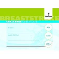 Breaststroke Certificate