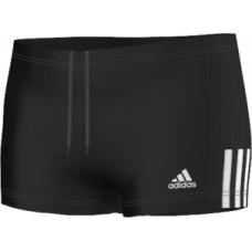 adidas Infitex Mid 3-Stripes Boxer - Black/White