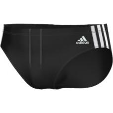 adidas Infitex 3-Stripes Trunks - Black/White