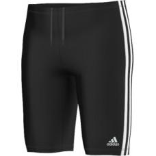 adidas Infitex 3-Stripes Long Length Boxer - Black/White