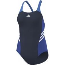 adidas Colourblock Swimsuit - Navy/Blue/White