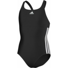 Girls Infinitex One-Piece Swimsuit - Black/White