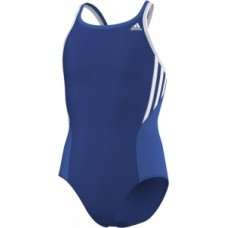 Girls Performance Swimsuit - Royal Blue/White