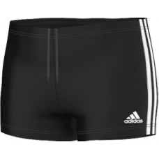 adidas 3-Stripes Boxers - Black/White